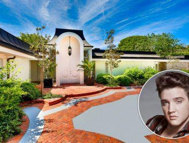 Mansão onde Elvis Presley viveu com a família em LA está para alugar. Vai encarar?