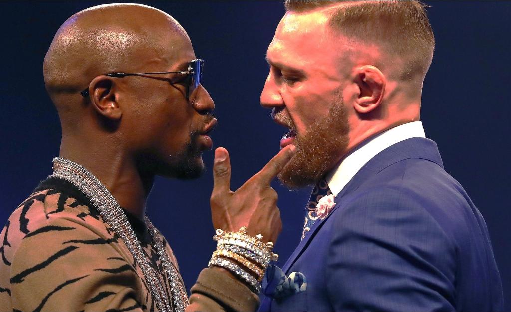 McGregor repete provocação feita a Aldo para Mayweather