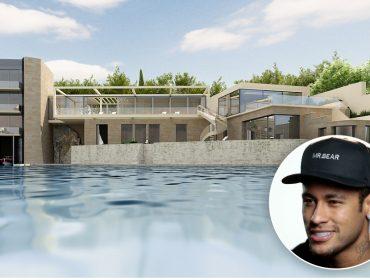 A Villa Octopussy, o paraíso secreto de Neymar