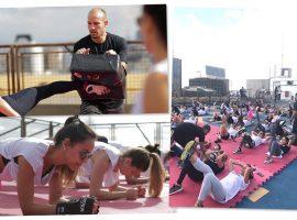 Cidade Jardim recebe 1ª etapa da Play for Good com aulão de funcional fight
