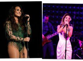 Brasileira filha da veterana global Angelina Muniz vai abrir show de Demi Lovato em NY