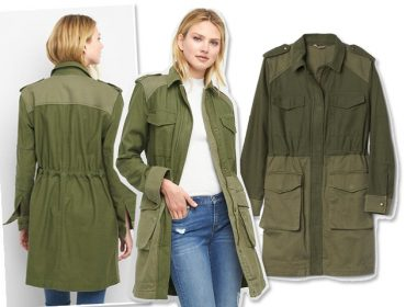 Desejo do Dia: trench coat militar GAP para a batalha fashion de todo dia