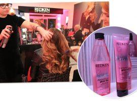 Redken lançou sua linha Diamond Oil Glow Dry com super agito na Casa Glamurama