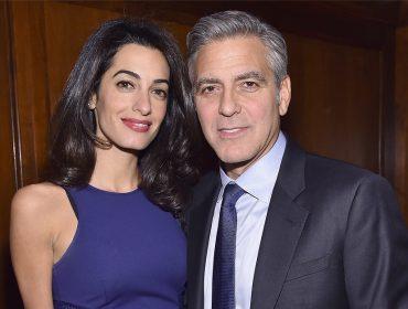 """O novo passatempo de Amal e George Clooney é assistir reprises de """"E.R."""""""