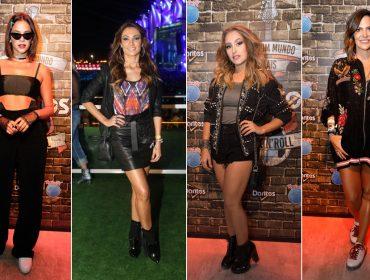 Bruna Marquezine, Patrícia Poeta e mais entre as bem vestidas do Rock in Rio 2017
