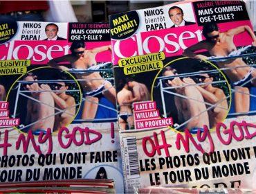 Kate Middleton ganha processo contra revista francesa que a flagrou de topless