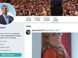 Político conservador dos EUA curte vídeo pornô no Twitter e causa polêmica no país