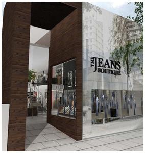 Inaugura o do jeans boutique glamurama for Piso xose novo freire
