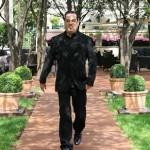 Marco Antionio de Biaggi: nos jardins do Ritz