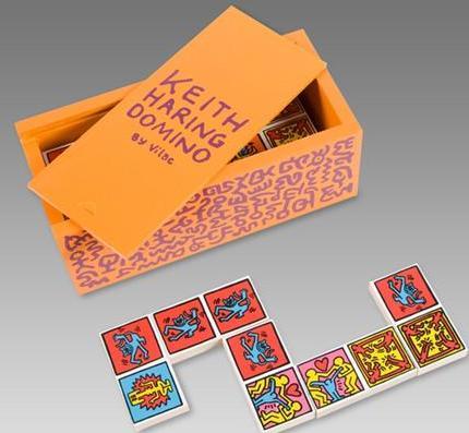 Jogo de dominó de Keith Haring: must-have
