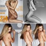 Jennifer Hawkins: sem photoshop na capa da edição de fevereiro da revista