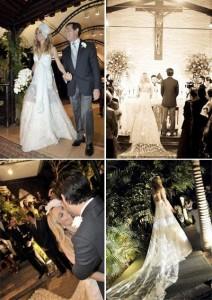Fernanda de Goeye e Augusto Arruda Botelho casam em cerimônia simples, em São Paulo.