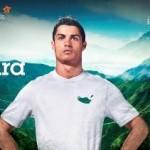 Imagem da campanha do arquipélago de Madeira com Cristiano Ronaldo: embaixador ilustre