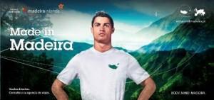 Cristiano Ronaldo foi escolhido pela Comissão de Turismo de Madeira, em Portugal, para ser o novo embaixador internacional do arquipélago.