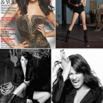 "Lea Michele for British ""Marie Claire"": The ugly duck's story"