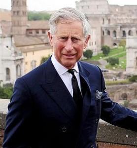 Príncipe Charles também entrou na moda do bunker.