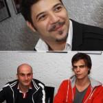 Dionisio Neto, Patrick Siaretta e Charly Braun: para quem é do cinema