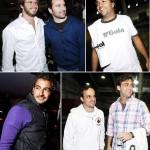 Ricardo Goldfarb e Buga, Bruno Dias, Michel Saad, Rodrigo Rosset e Felipe Aversa: turma pronta para o último desafio