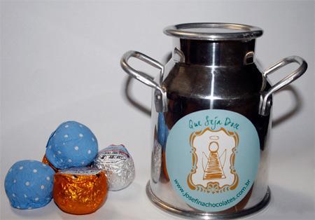 Os docinhos da Josefina Chocolates: fofo demais