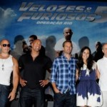 Vin Diesel, Dwayne Johnson (The Rock), Paul Walker, Jordana Brewster and Neal Moritz: success in Rio