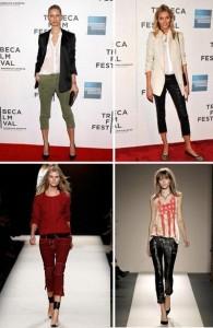 Na última primavera, a Balmain e a Isabel Marant apostaram nas cropped pants… Deu certo nas ruas!