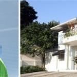 Eduardo Gaz e a fachada da SKI Brasil: comemorando o sucesso dos brasileiros em Aspen!