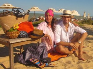 Murilo Lomas e Sig Bergamin esticaram o feriado e continuam aproveitando o sol de Trancoso! #delicia
