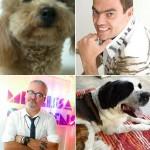 Kadu e Marco Antonio e Mauro Freire e Naná: cabeleireiros contam como cuidam do look dos cachorros