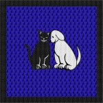 Lenço Cat Dog da Scarf Me: estilo do bem