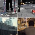 """Quatro momentos da peça """"SEEWATCHLOOK"""", de Michel Melamed: o hit de Nova York"""