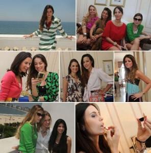 Uma turma de lindas se reuniu nesta quinta-feira no Copacabana Palace!