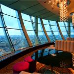 Sixty: restaurante com vista maravilhosa de Moscou