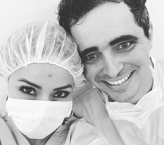 Sabrina Sato e Felipe Abreu