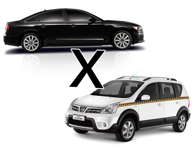 Taxis X Uber  ||  Créditos: Reprodução
