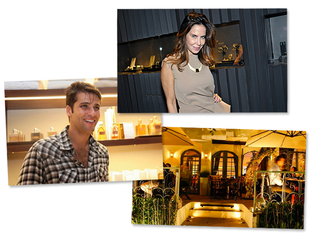 Bruno Gagliasso e Ana Paula Junqueira serão os anfitriões do jantar no Bagatelle || Créditos: Divulgação / Reprodução