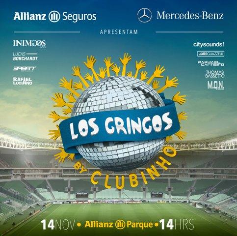 O Clubinho Los Gringos vem aí! || Créditos: Divulgação