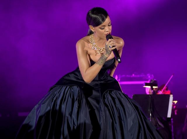 Rihanna será a estrela do show de DiCaprio || Créditos: Getty Images