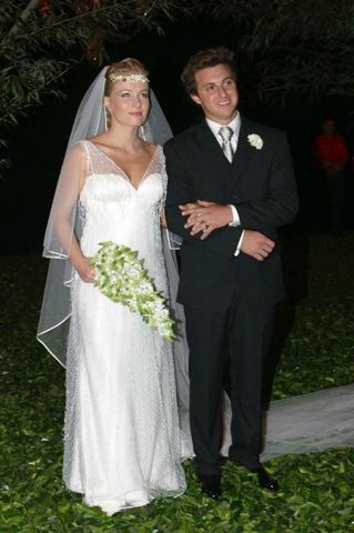 Angelica em seu casamento com Luciano Huck || Créditos: Reprodução