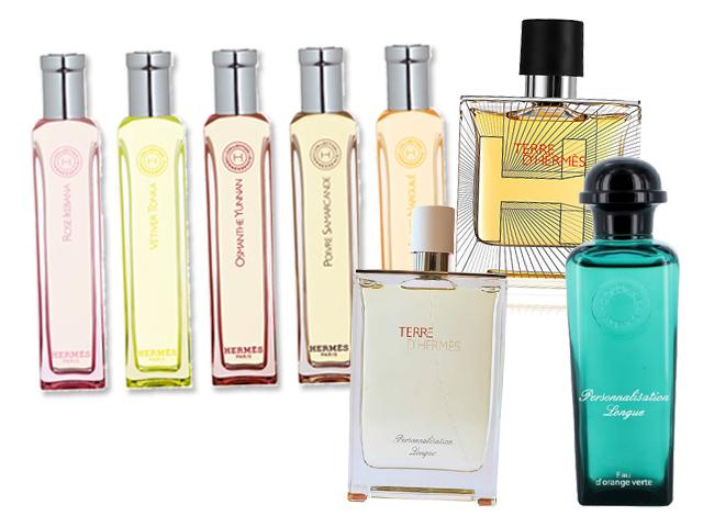 Perfumes personalizados na Hèrmes do Cidade Jardim