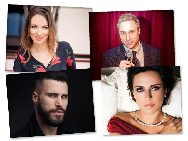 """Júlia Melim, Brett Siddell, Diego Ajuz e Vanessa Jardim vão encenar a peça """"Relationships – Almost Romantic"""" em Nova York    Créditos: Divulgação"""