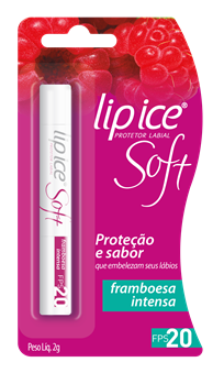 Lipice Soft de Framboesa para dar sabor ao verão    Créditos: Divulgação