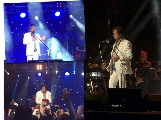 O show de Roberto Carlos no Mandalay Bay, em Las Vegas || Créditos: Renata Araújo