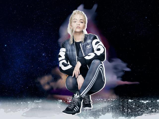 Rita Ora para Adidas Originals  ||  Créditos: Divulgação