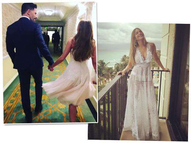 Sofía Vergara e Joe Manganiello se casaram nesse domingo! || Créditos: Reprodução Instagram