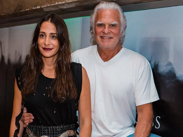 Paula Raia e Fernando Altério