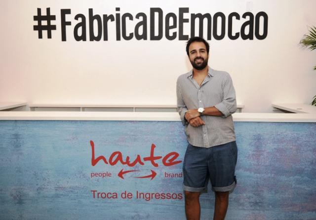 Bruno Dias na Casa Haute || Créditos: André Ligeiro