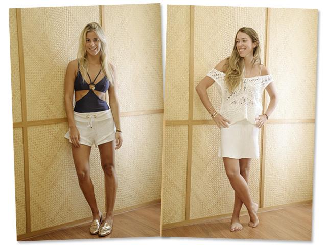 Shantal Abreu e Diana Krepinsky na Cia Marítima do Shopping JK    Créditos: Divulgação
