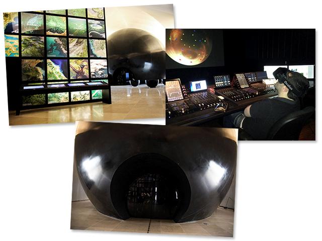 Entrada do Domo no Museu do Amanhã, primeira experiência dos visitantes || Créditos: Divulgação