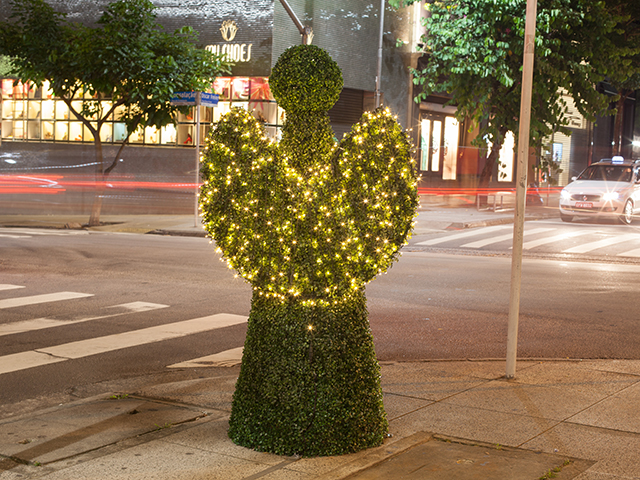 Oscar Freire se ilumina ainda mais nesta Natal    Créditos: Divulgação