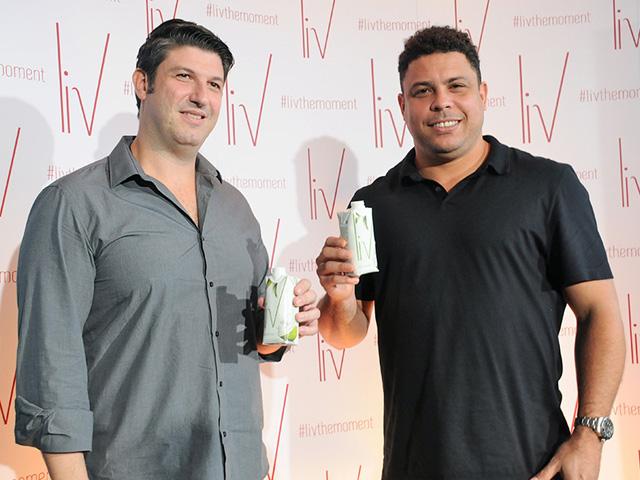 Luis Fernando Bellintani e Ronaldo anuncia sociedade na marca de bebidas saudáveis, Liv  ||  Créditos: Bruna Guerra
